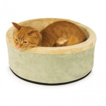 thermo-kitty-bed heated cat bed