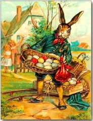The origin of the Easter Bunny can be traced back to 13th-century pre-Christian Germany