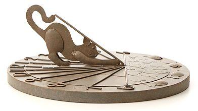 Cat Sundial