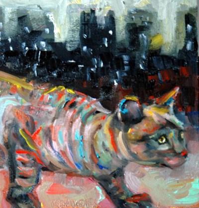 Lil Alley Cat by Rachel K Schlueter