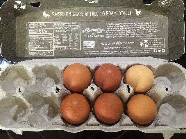 free range eggs for dogs