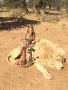 A 19-Year-Old Cheerleader Who Hunts Endangered Species