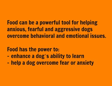 food for dogs anxiety and fear