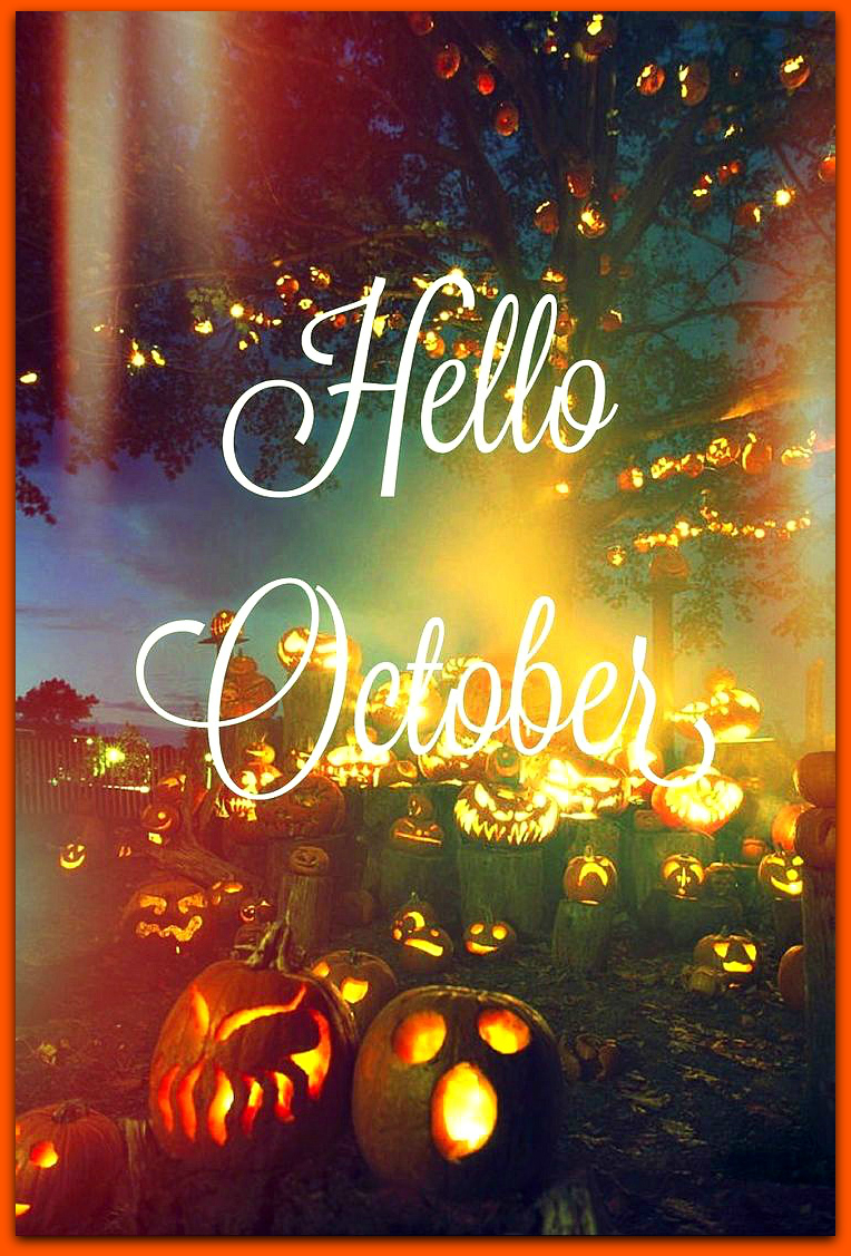 Hello October. U201c