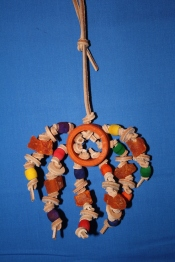 Parrot toys_chew toys for parrots_The LEather Elves