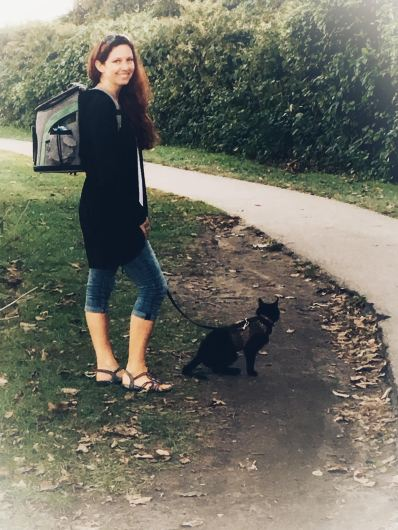 how to walk a cat_conscious Companion
